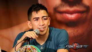 Leo Santa Cruz vs. Abner Mares full video-Complete post fight press conference video