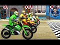 Bike racing games - Bike Racing Moto - Android Gameplay FHD - Motor Bikes For Kids Racing Games