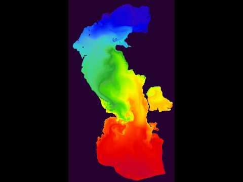 Caspian Sea Ocean Model