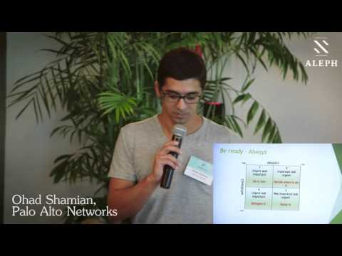 Ohad Shamian, Palo Alto Networks - Preparing for Your Next Investment Round