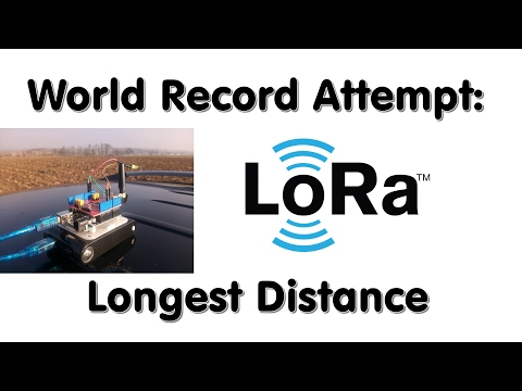 #120 LoRa / LoRaWAN  Range World Record Attempt. Will I succeed?