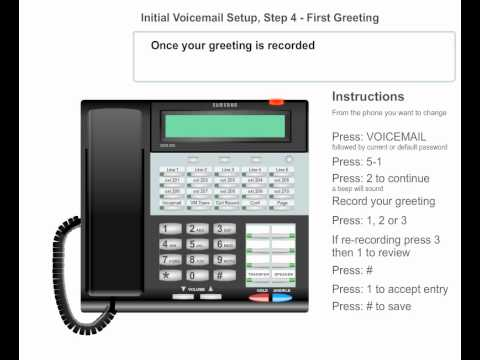 Voicemail setup step 04 record greeting 1 business telephone voicemail setup step 04 record greeting 1 business telephone system m4hsunfo