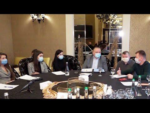 Телеканал ВІННИЧЧИНА: Депутат верховної ради ініціював у Вінниці круглий стіл з підприємцями