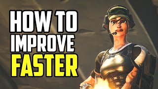 Why You're Not Improving in Fortnite! (How to Get Better Fast!)