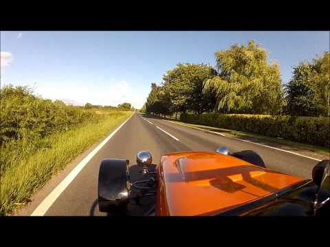 MK Indyblade kit car 0-60 mph & 0-100 mph testing dashware iphone app,