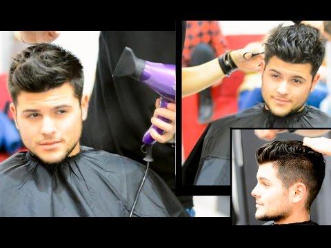 Men's Short Hair - Messy Quiff Haircut & Style