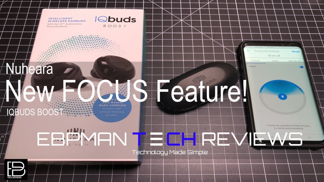 Direct your hearing with NEW Firmware adds FOCUS feature to IQBUDS BOOST!