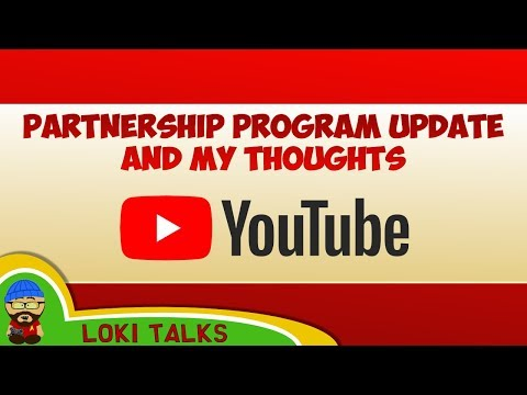 YouTube Updated Partnership Program Details and my Thoughts