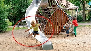 BEST FUNNY CUTE Kids Playing with Slide Fail   FUNNY Vines Compilation