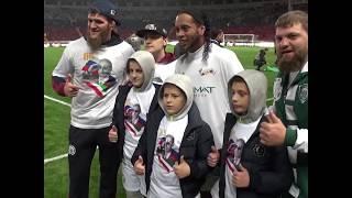 Кадыров посвятил футбольный матч юбилею Путина