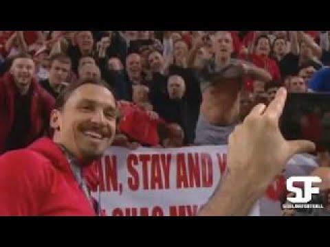 Zlatan ibrahimovic hilarious celebration moments - after europa league final win vs ajax