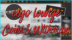 CS:GO LOUNGE COINS AND WITHDRAW EXPLAINED! (New System)