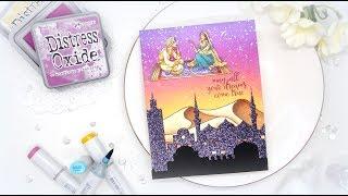 My Monthly Hero December Blog Hop: Arabian nights