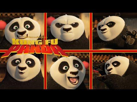 Po's Celebrity Impressions  NEW KUNG FU PANDA