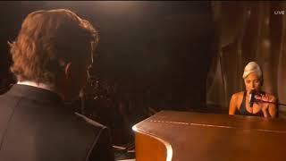 Lady Gaga and Bradley Cooper SHALLOW (live) A Star Is Born Oscar Awards 2019