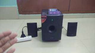 Unboxing And Review Of F&D F210X 15W Speaker   Best Budget Bluetooth 2.1 Speaker.