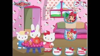Hello Kitty House Makeover Play The Girl Game Online
