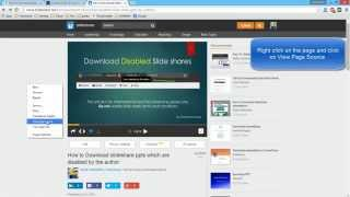 Video How to Download slideshare ppts which are disabled by the author download MP3, 3GP, MP4, WEBM, AVI, FLV Maret 2018