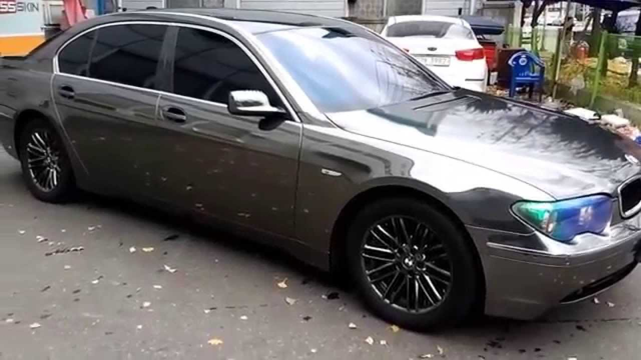 Bmw 745li Black Chrome Wrap Youtube