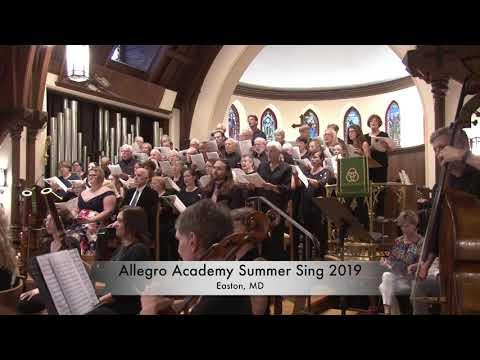 Allegro Academy Summer Sing 2019