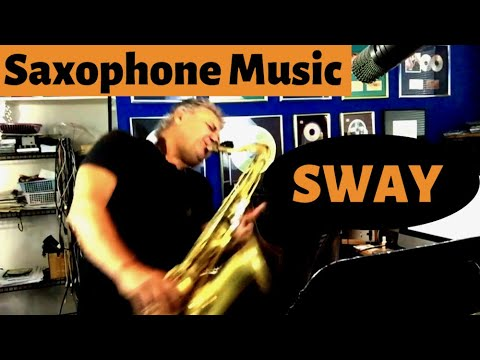 Sway  Saxophone Music & Backing Track Download