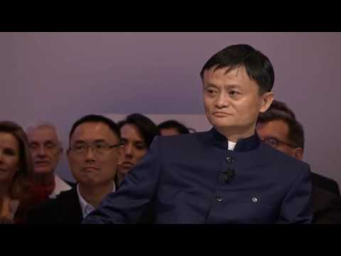 Jack Ma motivational speech @ Davos