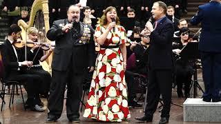 """Более 700 человек исполнили песню """"Катюша"""" в Музее Победы."""