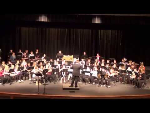 Farmington Middle School Intermediate Band: While I Watch the Yellow Wheat by Larry Daehn