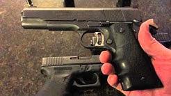 Glock 39 & Glock 23 edc 45 GAP & 40 s&w