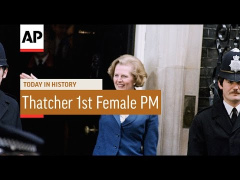 Margaret Thatcher First Female Prime Minister - 1979 | Today In History | 3 May 17