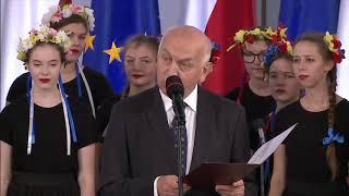 Magdalena Filiks - wręczenie zaświadczenia o wyborze - 24 października 2019 r.