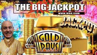 TRIPLE JACKPOTS! 👑Gold Pays Slot Machine 👑$68 BETS!!! | The Big Jackpot