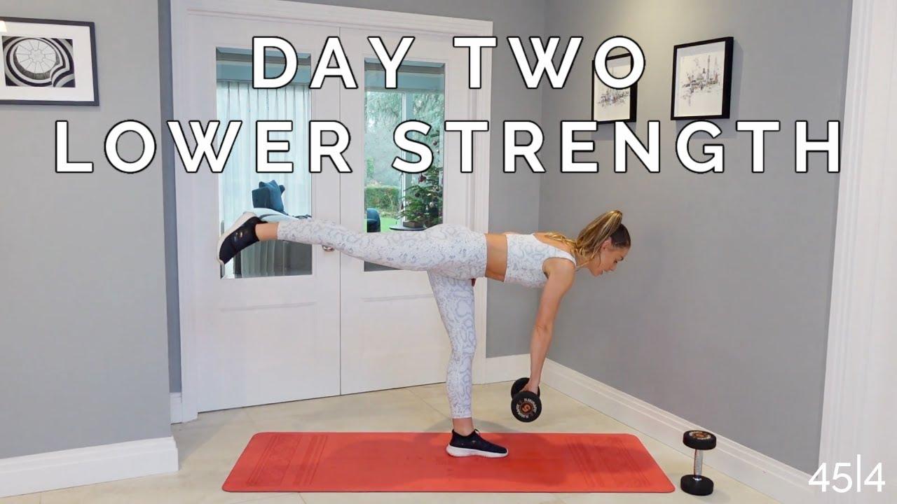 WEEK 2 DAY 2 : LOWER BODY STRENGTH