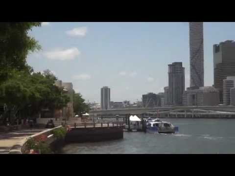 Brisbane: view of City and Streets Beach