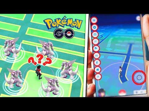 ¡INCREIBLE! NUEVO HACKER CAPTURA A PALKIA CON JOYSTICK en Pokemon Go thumbnail