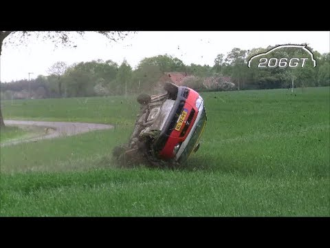 Best Of Rally Crash Spins & Mistakes 2012 [HD]