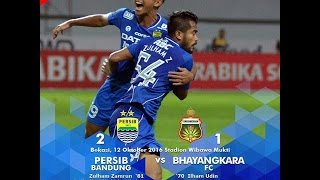 Download Video Persib vs Bhayangkara 2-1 Highlight TSC 12 Oktober 2016 MP3 3GP MP4