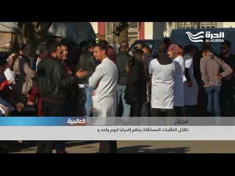 تكتل النقابات المستقلة في الجزائر ينظم إضرابا ليوم واحد ويهدد بالتصعيد إذا رفضت الحكومة مطالبه  - 21:21-2018 / 2 / 14