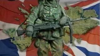British Soldier Falklands - 120mm Resin figure
