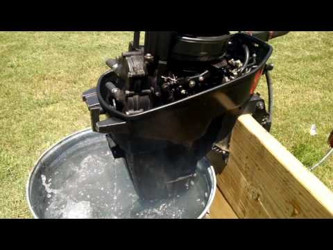 Gamefisher, Force, Mercury 15hp Outboard Running Hot