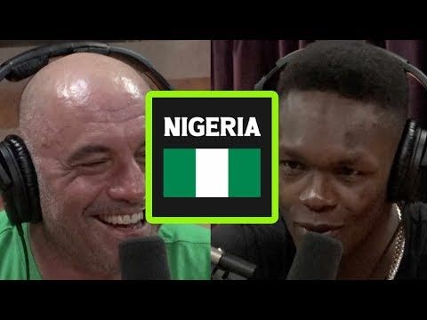 What it's Like When Israel Adesanya Visits Nigeria
