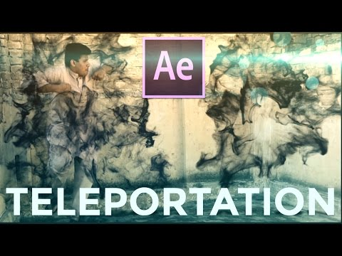 After Effects Tutorial: Nightcrawler Advance Teleportation Effect Tutorial