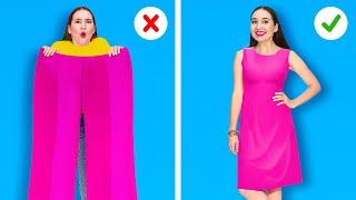 ШИКАРНЫЕ ЛАЙФХАКИ С ОДЕЖДОЙ || Лучшие идеи для прокачки гардероба от 123 GO Like!