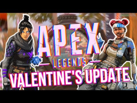 APEX LEGENDS VALENTINE'S DAY UPDATE! - New Skins, Stats, Characters?! Mp3
