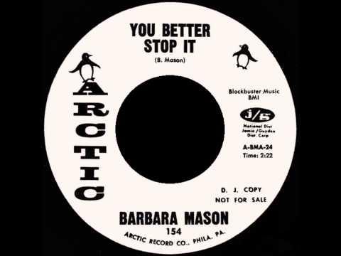 RARE SOUL 45 - Barbara Mason - You Better Stop It