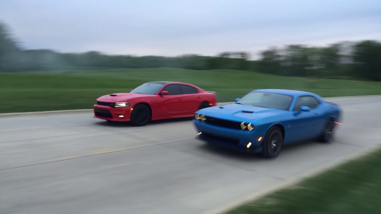 Charger Vs Challenger >> Scatpack Chargers Vs Scatpack Challengers Which Is Faster
