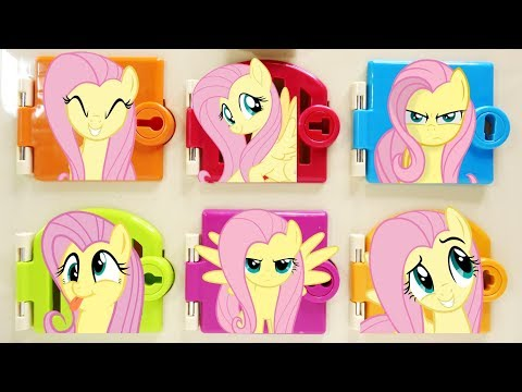 My Little Pony Fluttershy Trapped Matching Colors And Surprises