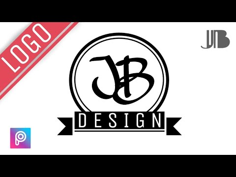 Cara Membuat Logo Keren Di Picsart Youtube