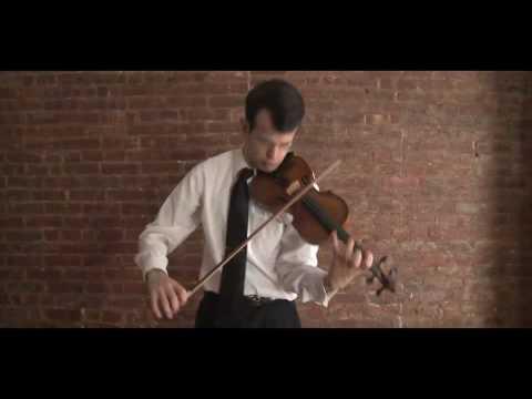 Paganini Caprice #23 - William Harvey, violin