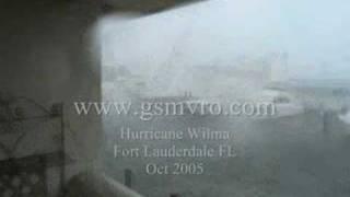 Yachts Crashing Hurricane Wilma Part 2 of 8